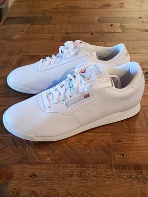 Reebok Princess Classic White shoes womens size 10 new for Sale in Citrus Heights, CA