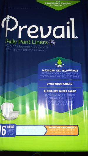 Prevail Daily Pant Liners for Sale in Los Angeles, CA
