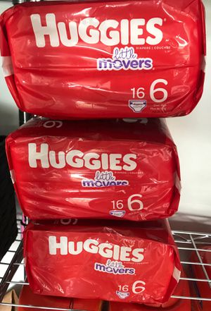 Size 6 diapers for Sale in Renton, WA