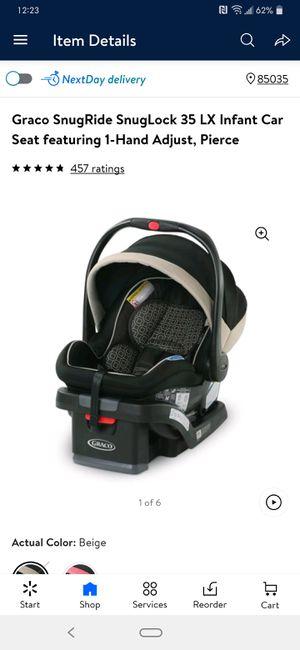 Graco SnugRide SnugLock 35 LX Infant Car Seat Baby Car Seat for Sale in Phoenix, AZ