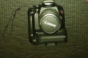 Canon T2i with 18-55 mm lens and two other lenses and Battery grip with two batteries and Magic Lantern software hack for Sale in North Las Vegas, NV
