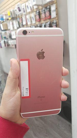IPhone 6s plus 128gb unlocked for Sale in Dallas, TX