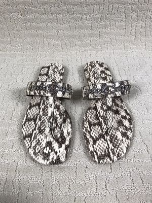 Coach Jaclyn Leather Snake Print Thong Sandals Size 11 NWOB (FG3816) for Sale in Buckhannon, WV