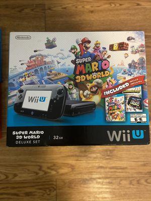 Nintendo Wii U Deluxe Set for Sale in San Antonio, TX