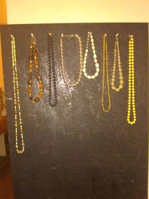 Beaded necklaces for Sale in San Antonio, TX