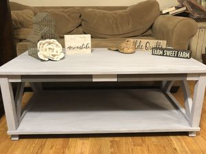 Cute Farmhouse Style Coffee Table- Solid Wood for Sale in Thompson's Station, TN
