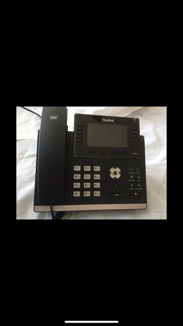 Yealink VOIP OFFICE PHONE SIP-T46S