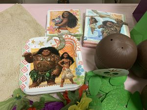 Moana birthday party decorations OBO for Sale in San Marcos, TX