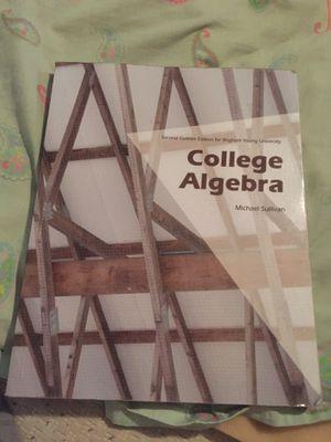 College Algebra by Michael Sullivan for Sale in Abilene, TX