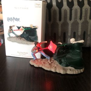 """Hallmark Keepsake Magic Light And Sound... The Final Battle """" Harry Potter """". for Sale in Rowland Heights, CA"""