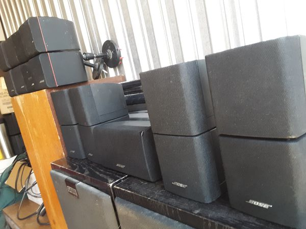 BOSE SURROUND SOUND CUBE SPEAKERS and SUBWOOFER