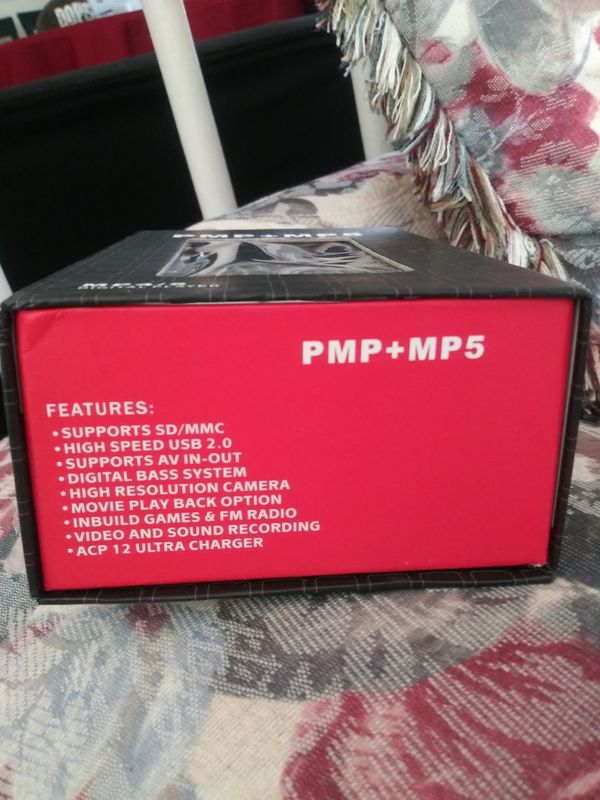 PMP+MP5 digital mp3 plyer with camera
