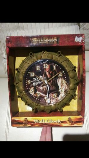 Pirate's of the Caribbean clock and lamp for Sale in Fenton, MO