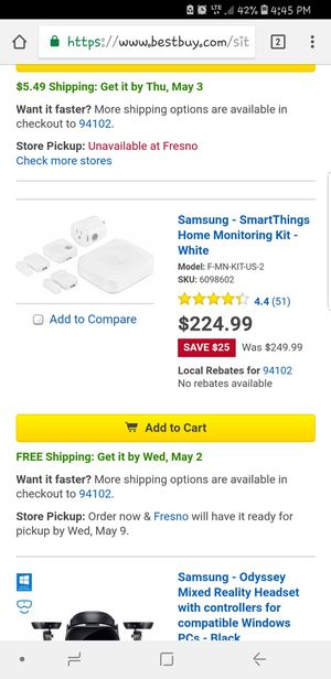 Samsung smartthings for Sale in Sanger, CA