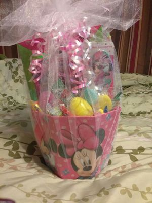 Minnie Mouse Easter Basket!! for Sale in District Heights, MD