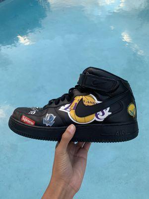 Supreme x Nike NBA Air Force 1 Black for Sale in Orlando, FL