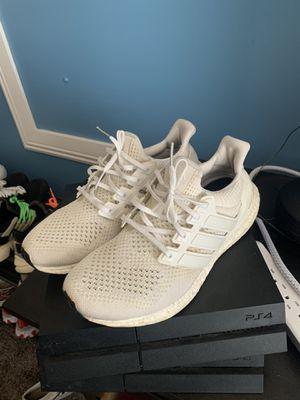 "Adidas ultraboost 1.0 3m ""triple white"" og release for Sale in Lancaster, CA"