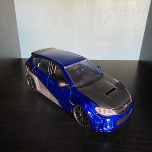 Fast And Furious 1:24 12 Subaru Impreza WRX STI for Sale in Union City, CA