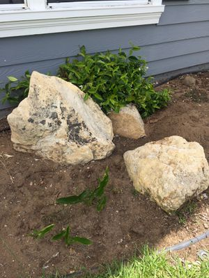 Free landscape rocks. You pick up. for Sale in Arroyo Grande, CA