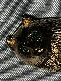 Gold Cat Brooch for Sale in Clearwater,  FL