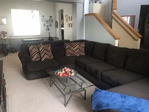 Large Brown Sectional for Sale in Federal Way, WA