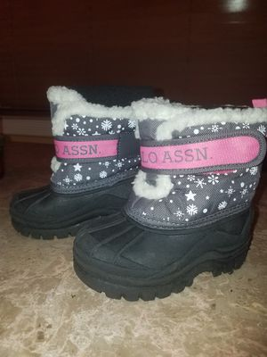 Toddler Snow Boots Size 7 for Sale in Fort Lauderdale, FL