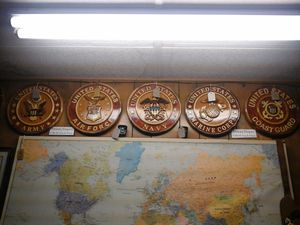 Handcrafted Wood Military Plaques for Sale in Lakeside, AZ