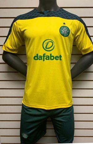 Soccer uniforms uniformes de futbol Celtic yellow for Sale in Los Angeles, CA