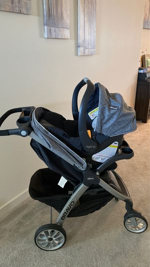 Chicco stroller, car seat and base for Sale in Pasco, WA