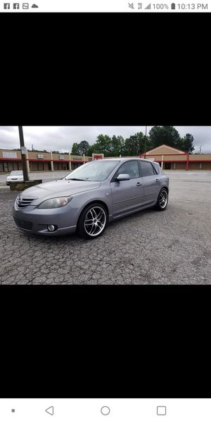 2004 Mazda 3s 197 Miles Cold air and Hot heat for Sale in Fayetteville, GA