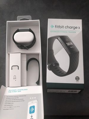 Fitbit Charge 3 - Black for Sale in Phoenix, AZ