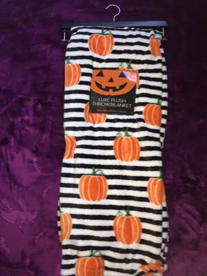 Pumpkin Blanket Throw for Sale in Houston, TX