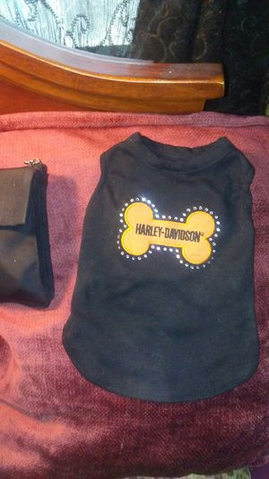 Harley Davidson outfit for very small dog for Sale in Cardington, OH