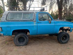 84 Chevy blazer for Sale in Bonsall, CA