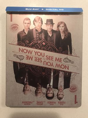 Now You See Me steelbook -please read for Sale in Aurora, CO