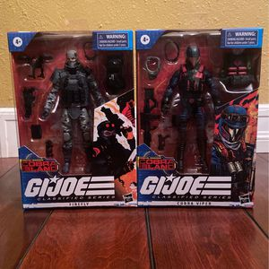GI Joe Classified Series Special Missions: Cobra Island Firefly & Cobra Viper for Sale in Los Angeles, CA