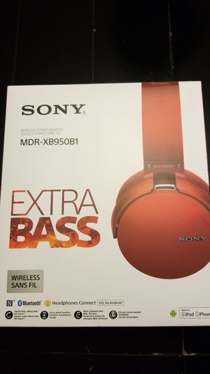 Sony MDR-XB950B1 headphones for Sale in Spring, TX