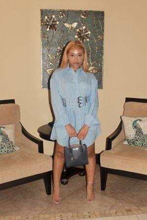 Denim shirt dress for Sale in West Park, FL
