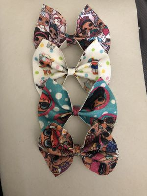 Lol hair bows 2 for $4 for Sale in Anaheim, CA