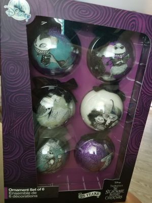 Disney Nightmare Before Christmas Ball Ornament Set for Sale in Spring Valley, CA