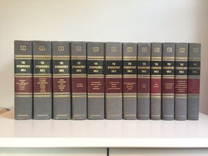 The Interpreter's Bible 12 Volume Set for Sale in Los Angeles, CA