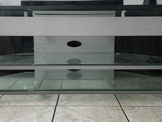 Glass tv stand for Sale in Paramount,  CA