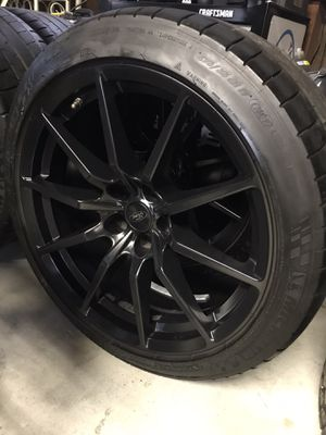 Shelby GT350 wheels/tires package for Sale in Allen Park, MI