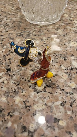 Disney's sorcerer mickey mouse Swarovski crystal figurine for Sale in Dublin, OH