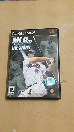 MLB 07 The Show, PS2 for Sale in Jamul, CA