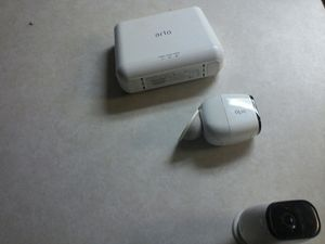 Arlo WiFi home security camera base and cameras for Sale in Fenton, MO