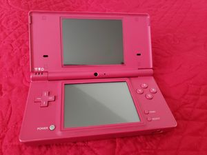 Nintendo DSi Pink w/7games and Black Case for Sale in Pasadena, TX