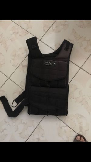 Cap weight vest for Sale in Wichita Falls, TX