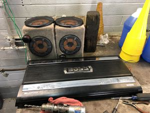 Boss Audio amo and speakers for Sale in Taylor, MI
