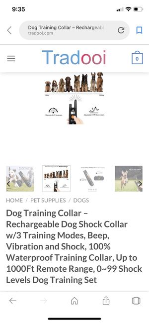 Dog care training collar for Sale in Prattville, AL